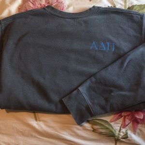 Gently Worn ΑΔΠ comfort color sweatshirt